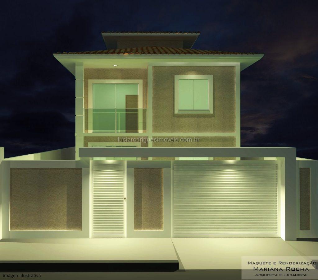 Casa independente 03 quartos – Ville Blanche – Cabo Frio
