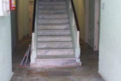 escada da entrada