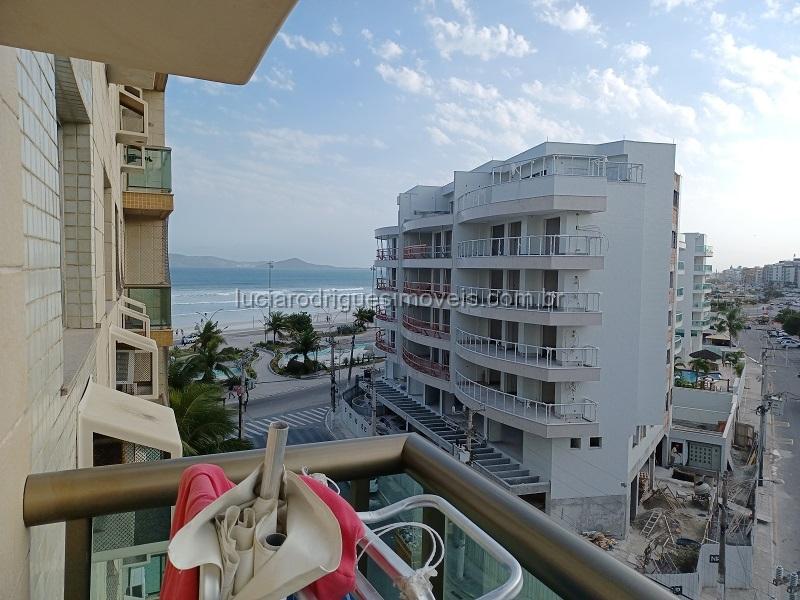 Apartamento de frente ao mar – 02 quartos + DEC – Praia do Forte – Cabo Frio